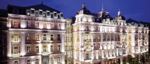 5 star hotel at night